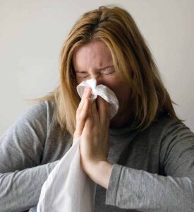 Acetic acid can prevent colds