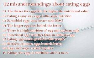 Facts about eating eggs