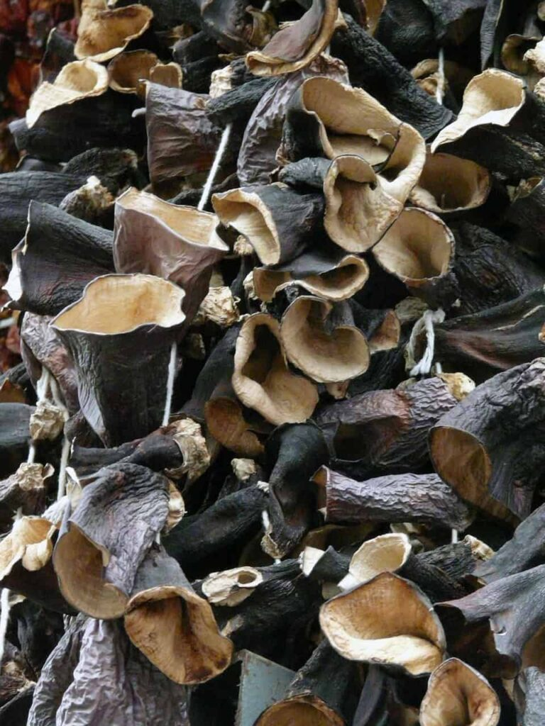 Black fungus contained in Auricularia auricula has very strong adsorption capacity.
