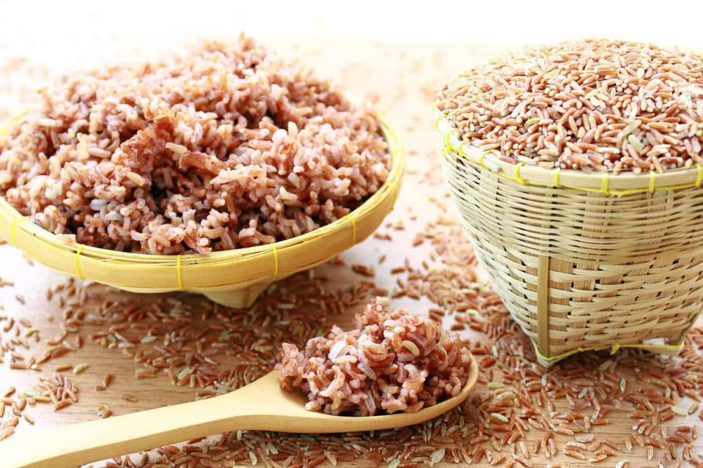 Brown rice is a divine food that helps to cleanse the large intestine