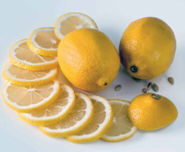 Lemon contains citric acid