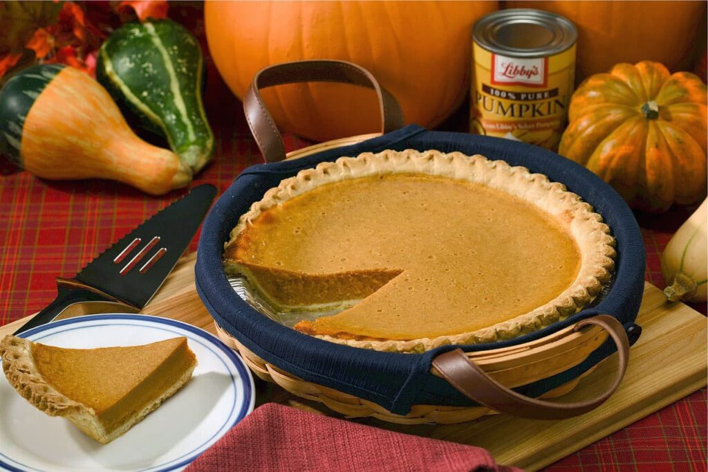 Pumpkin is used for dessert, except for certain varieties. Such as pie