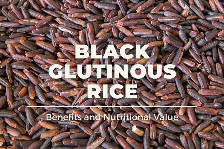 Black glutinous rice contains a lot of essential nutrients for our bodies.